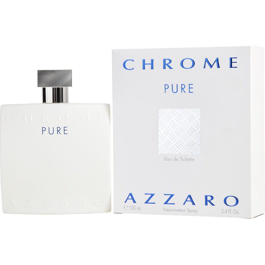 Azzaro Chrome Pure Eau de Toilette 100 ml