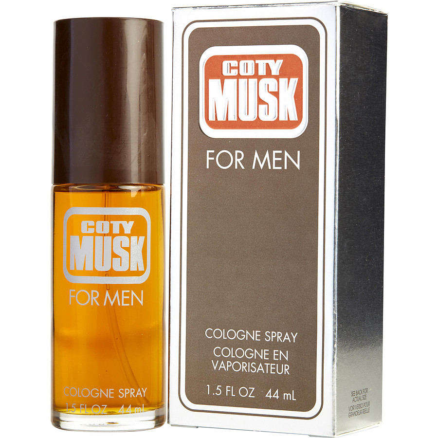 Coty Musk for Men Eau de Cologne 44 ml
