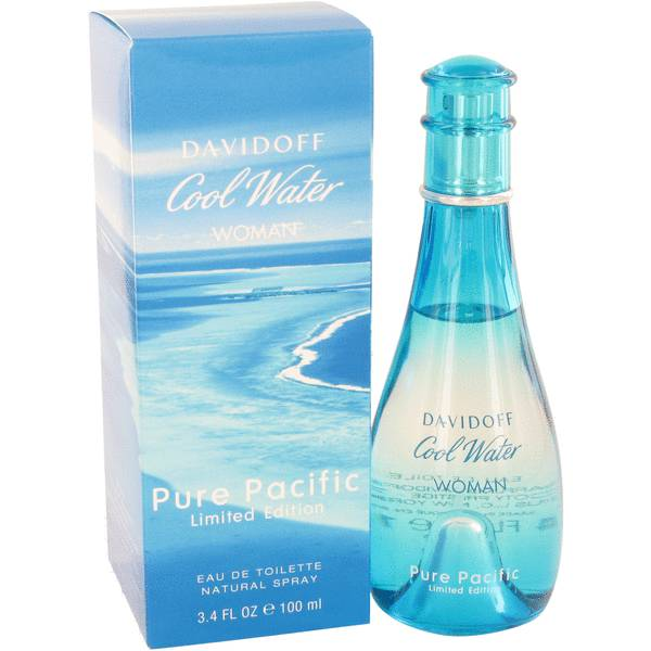 Davidoff Cool Water Pure Pacific Woman Eau de Toilette 100 ml
