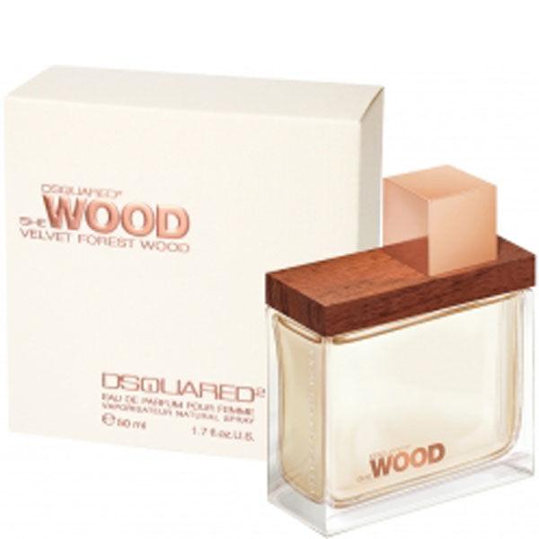 DSQUARED2 She Wood Velvet Forest Wood Eau de Toilette 50 ml