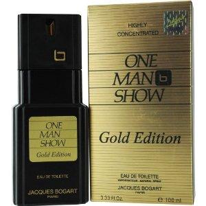 Jacques Bogart One Man Show Gold Edition Eau de Toilette 100 ml