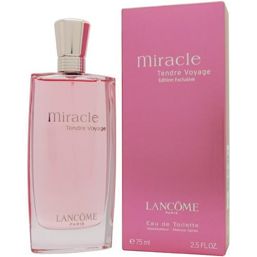 Lancome Miracle Tendre Voyage Eau de Toilette 75 ml