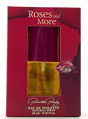 Priscilla Presley Roses and More Eau de Toilette 10 ml