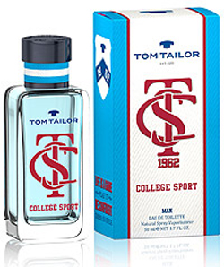 Tom Tailor College Sport Man Eau de Toilette 50 ml