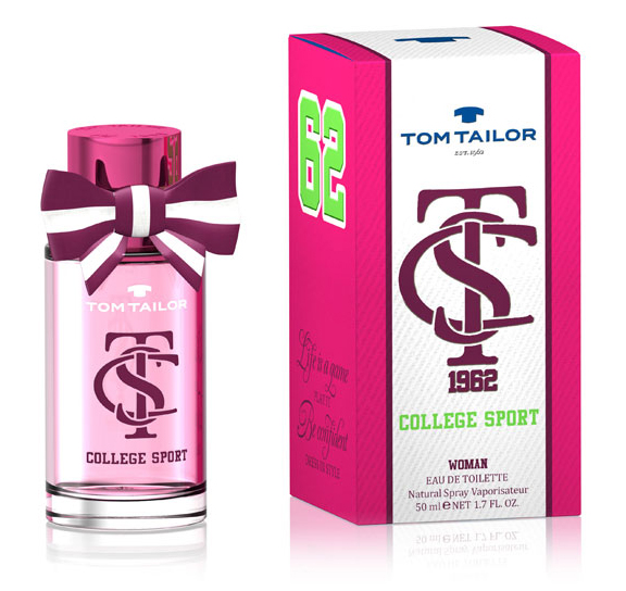 Tom Tailor College Sport Woman Eau de Toilette 50 ml