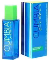Benetton Cumbia Colors Man Eau de Toilette 100 ml sérült doboz