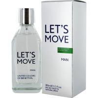 Benetton Let`s Move Eau de Toilette 40 ml